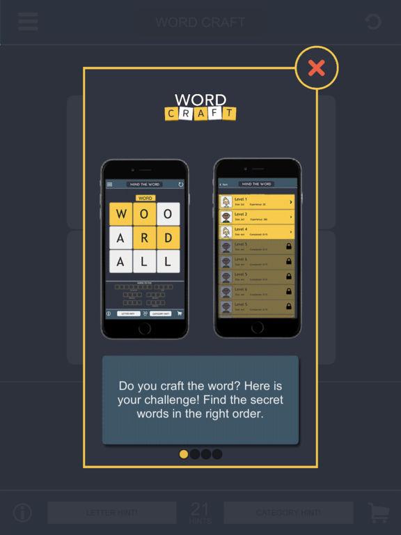 Скачать игру Word Craft - Word Game: Puzzle One's Brains & Fun