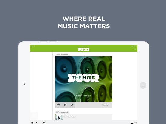 The Hits Radio iPad Screenshot 1