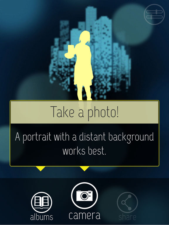 FabFocus - portraits with depth and bokeh Screenshots
