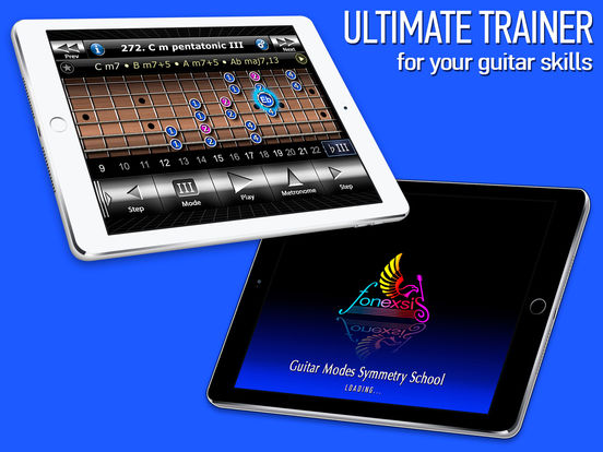 Guitar Modes Symmetry School iPad Screenshot 5