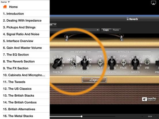 Logic's Guitar Recording Toolbox iPad Screenshot 2