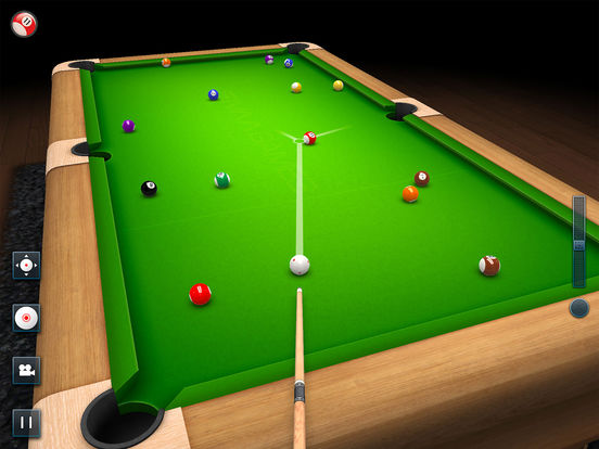 3D Pool Game Screenshots