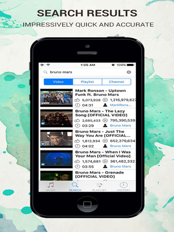 Mytube Pro - Video Music Player for Youtube Screenshots
