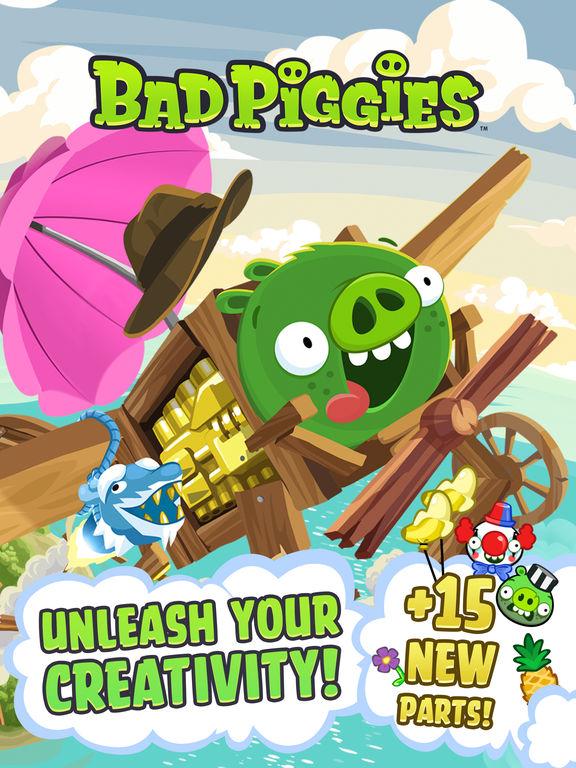 Screenshot #1 for Bad Piggies HD