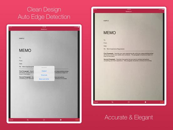 QuickScan+ Screenshots