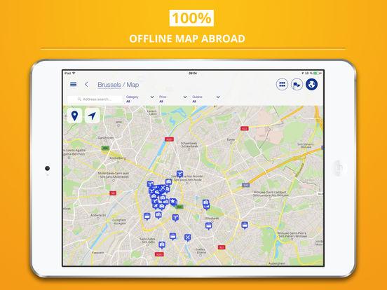 Brussels City tripwolf Travel Guide iPad Screenshot 4
