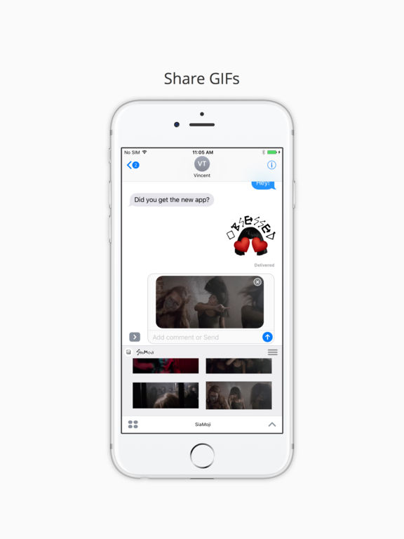 SiaMoji screenshot 5