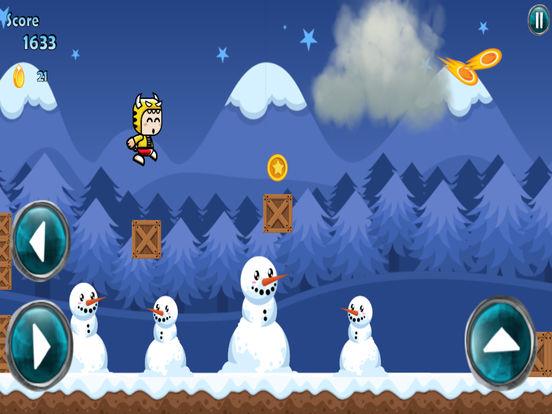 App Shopper: Running Mascot Winter World (Games)