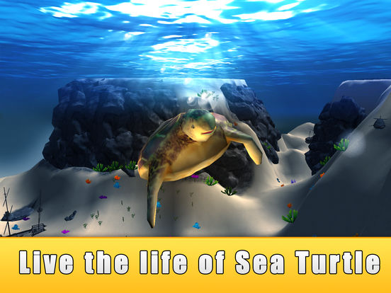 Sea Turtle Simulator 3D Full - Ocean Adventure на iPad