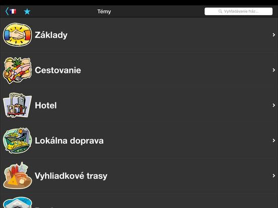 Cestovný prekladač iPad Screenshot 3