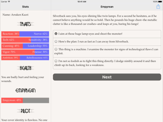 Empyrean для iPad