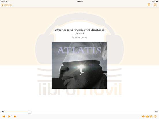 El Secreto de las Pirámides y de Stonehenge - AudioEbook iPad Screenshot 2