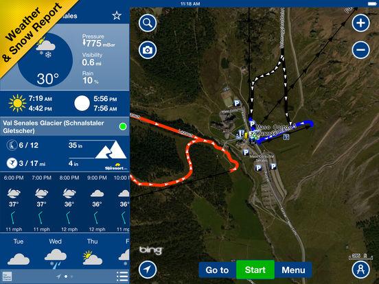 NAVIONICS SKI Screenshots