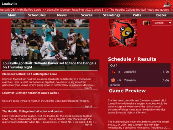 Louisville Cardinals College SuperFans iPad Screenshot 2