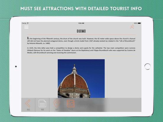 Florence: Travel Guide iPad Screenshot 3