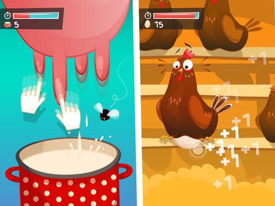 Farm Way - игра-кликер про забавных животных для iPad