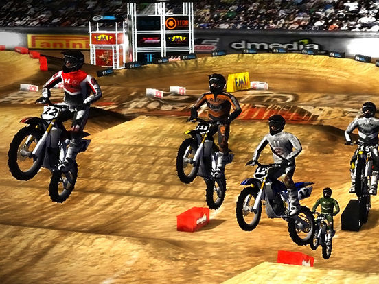 2XL Supercross HD iPad Screenshot 1