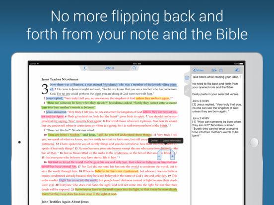 NIV Bible iPad Screenshot 5