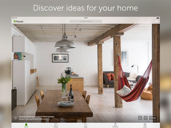 Houzz interior design ideas on the app store for Room design app using photos