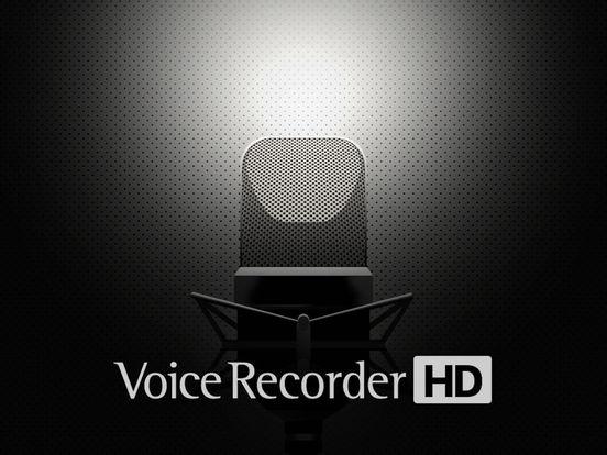 Voice Recorder HD iPad Screenshot 1
