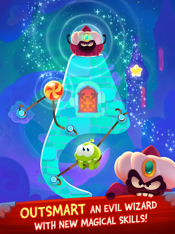 Screenshot #2 for Cut the Rope: Magic
