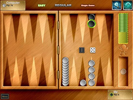 Backgammon Lite iPad Screenshot 3