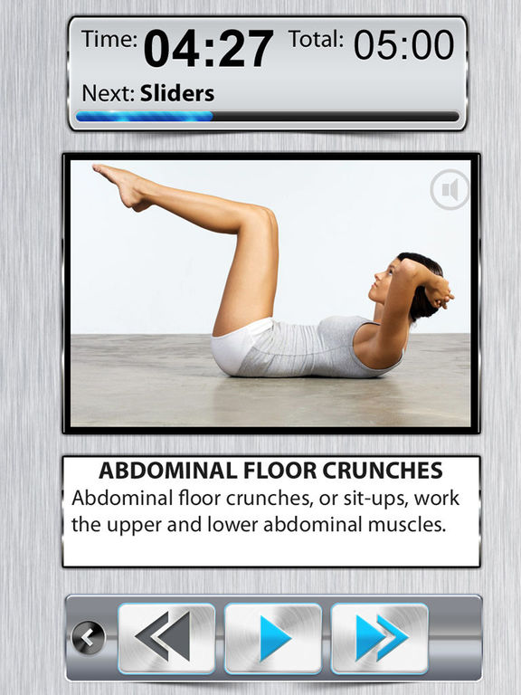 Belly Fat Workout FREE - 10 Minute Ab Exercises screenshot