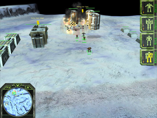 MechWarrior: Tactical Command screenshot