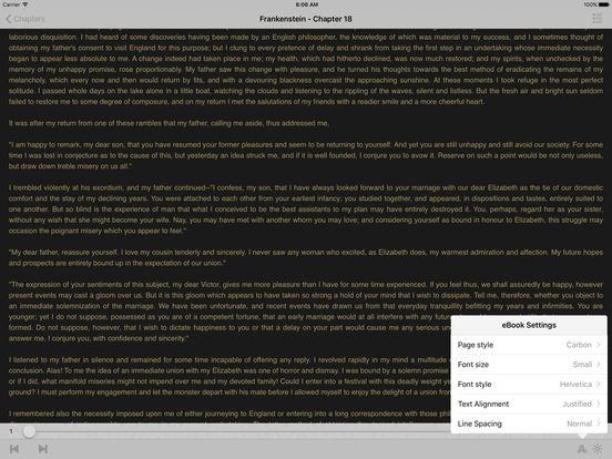 Frankestein (English) iPad Screenshot 1