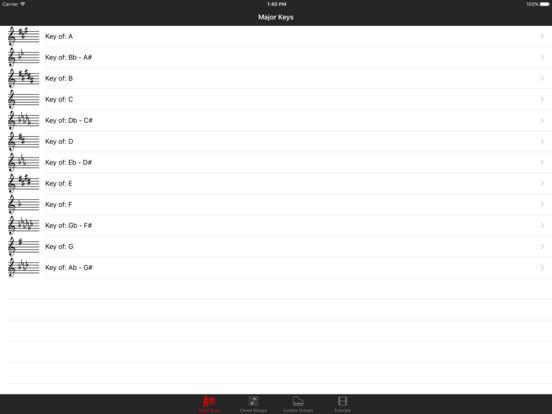 Piano Chord Key iPad Screenshot 2