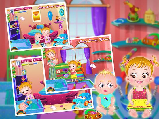 Baby Hazel Sibling Care для iPad