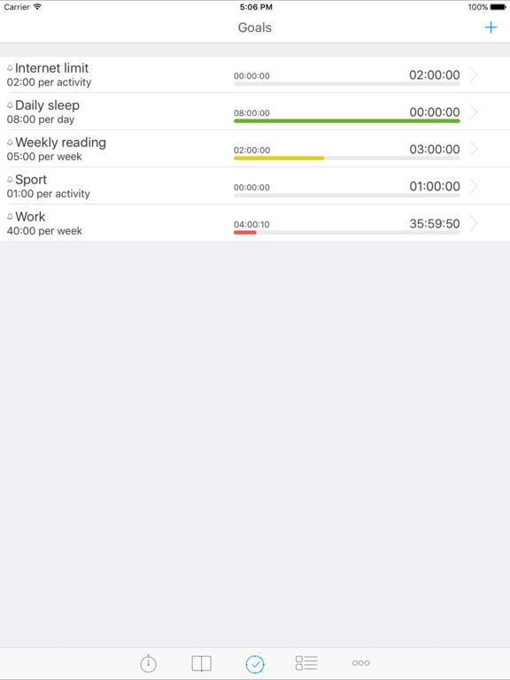 Screenshots for aTimeLogger 2 - Personal Time Tracker & Time Sheet
