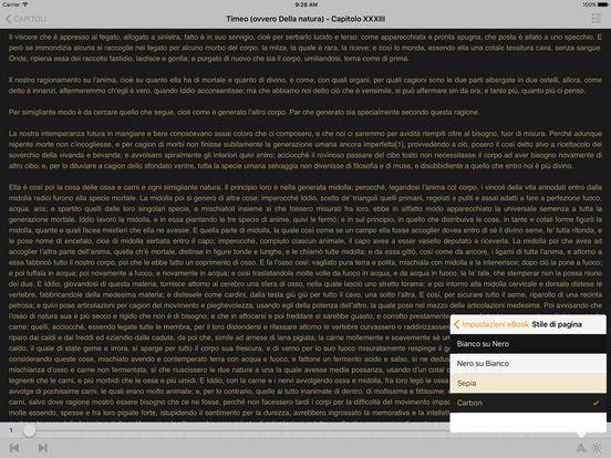 Timeo (ovvero Della natura) – Platone iPad Screenshot 2