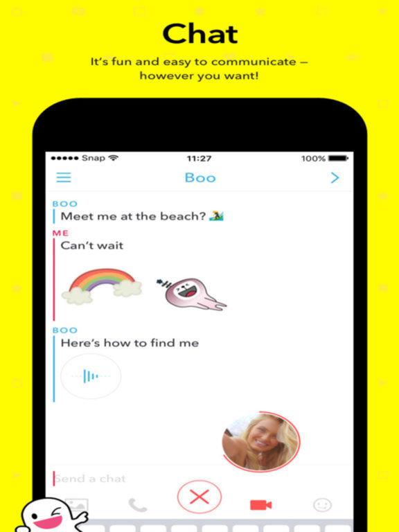 Snapchat Pro. Screenshots