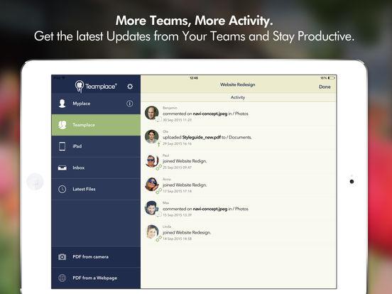 Cortado Workplace iPad Screenshot 5