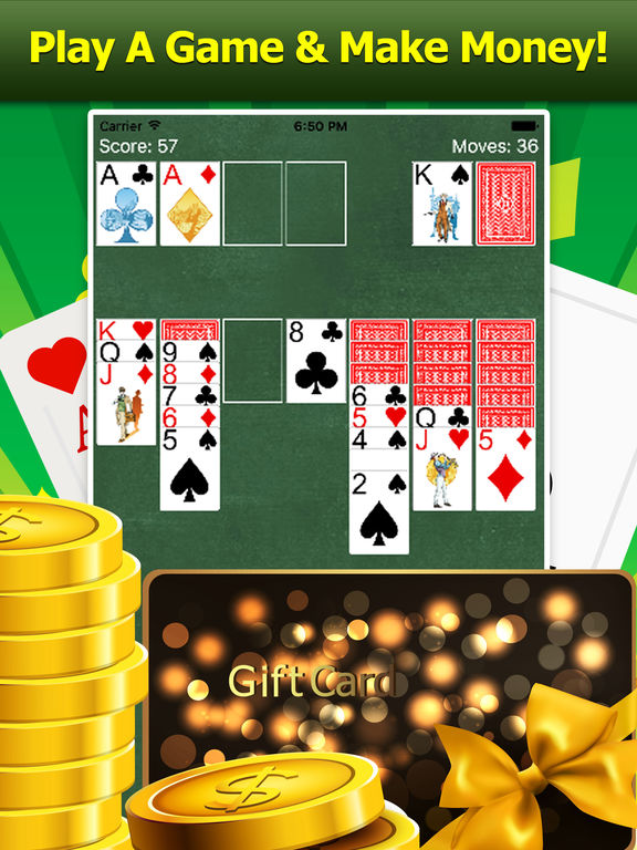 Reward App Solitaire - Gifts and Cash!-ipad-0
