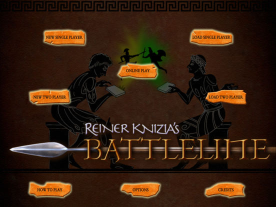 Reiner Knizia's Battleline iPad Screenshot 1