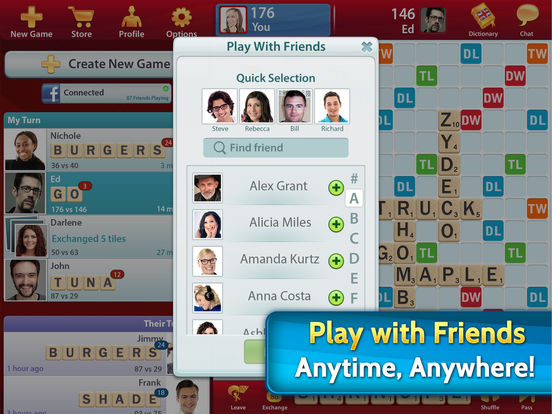 SCRABBLE for iPad iPad Screenshot 3