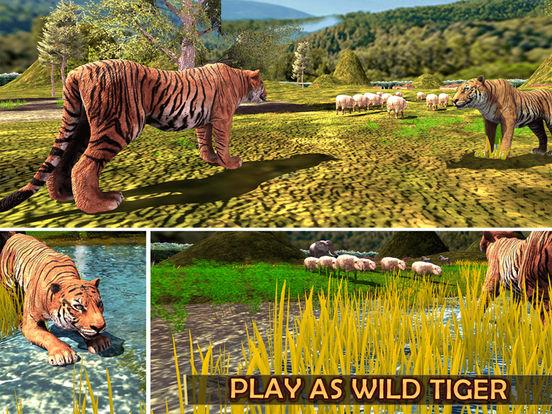 Жизнь дикий тигр - Джунгли история выживания для iPad