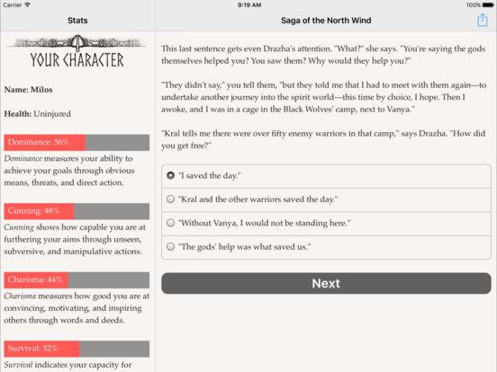 Saga of the North Wind для iPad