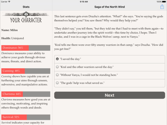Saga of the North Wind screenshot 7