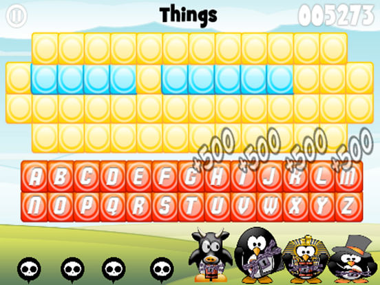 PenguiN WacK Word Guess Screenshots