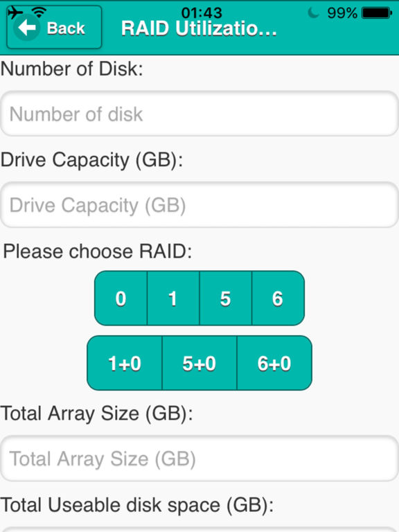App Shopper Bandwidth Raid Calculator Utilities
