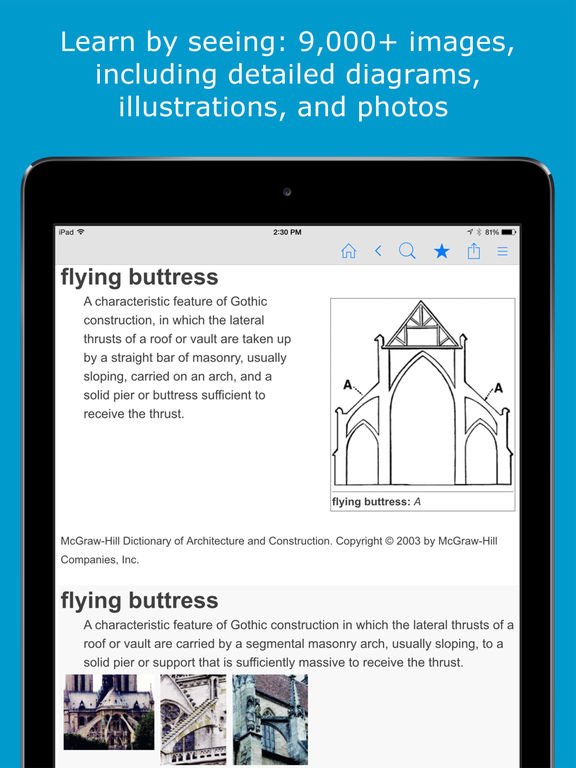 Architecture Dictionary - Architectural Terms and Definitions screenshot