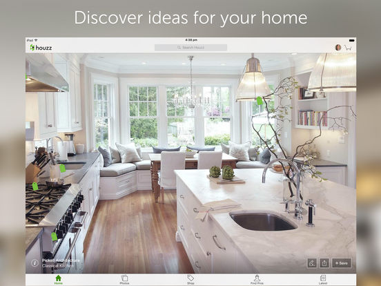 Houzz Interior Design Ideas iPad Screenshot 1