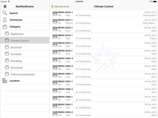 StarRezRooms iPad Screenshot 3