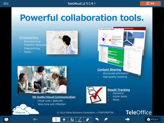 TeleOffice iPad Screenshot 4