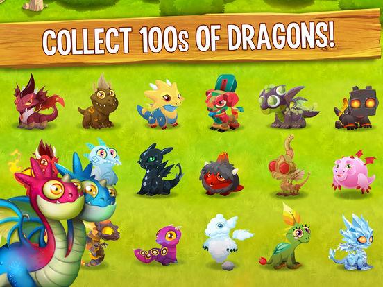 Screenshots of Dragon City Mobile for iPad
