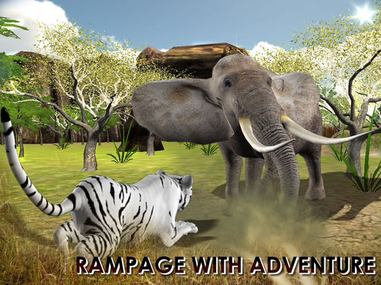 3D Wild Tiger Hungry Tiger Real Simulator Screenshots
