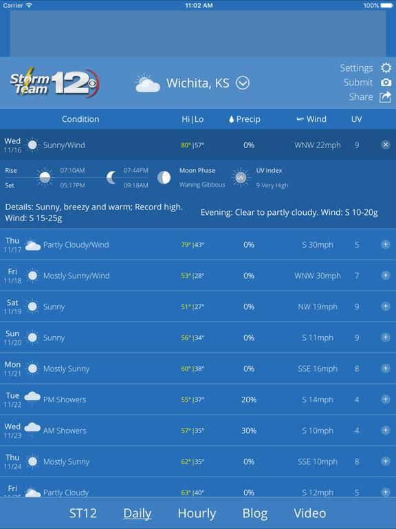 kwch weather radar live doppler